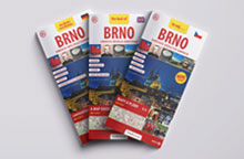 Brno - pocket guide with maps
